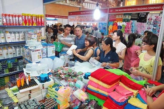 Các triển lãm hàng Thái Lan luôn tấp nập khách hàng