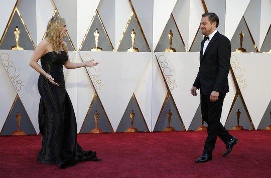 Kate và Leonardo trên thảm đỏ