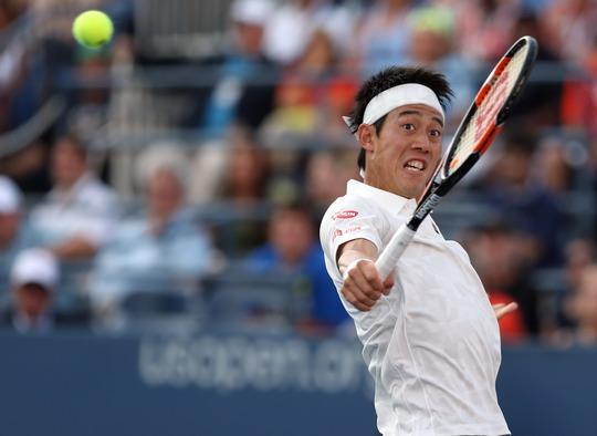Nishikori đang cố gắng tái lập thành tích vào chung kết như 2 năm trước