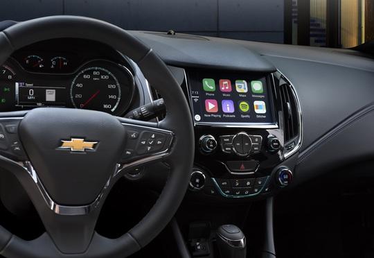 Chevrolet Cruze hoàn toàn mới ra mắt