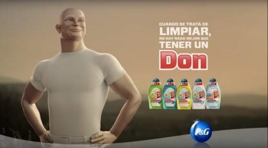 Tại Tây Ban Nha, thương hiệu trên lại có tên khác là Don Limpio.