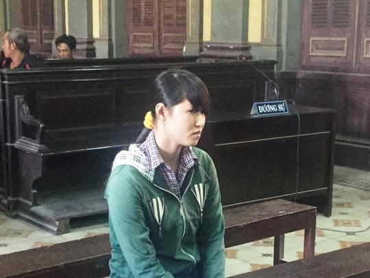 Phạm Thị Tứ tại phiên tòa phúc thẩm