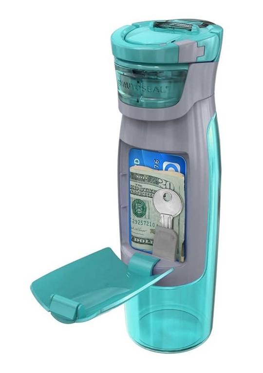 Bình nước đa năng. Với những ai hay đi tập Gym hay Yoga thì phải nói bình nước này tiện dụng đến thế nào, chỉ với một bình nước nhưng nó còn đóng luôn cả vai trò của chiếc ví,...