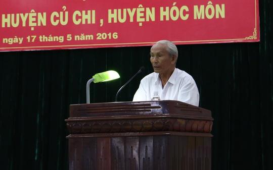 Cử tri Nguyễn Chí Năm bức xúc trước vấn đề ức hiếp dân, hành dân của một bộ phận công chức nhà nước.