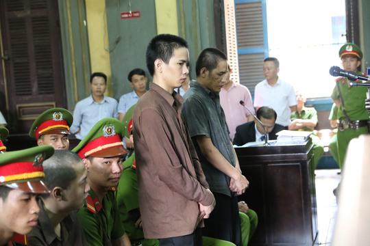 Vũ Văn Tiến trong phiên toà phúc thẩm vụ thảm sát Bình Phước