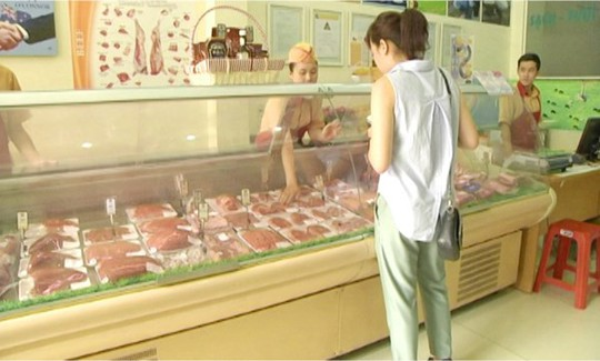 Nên mua thịt bò ở các cửa hàng uy tin (ảnh chỉ có tính minh họa) Ảnh Phan Diệu