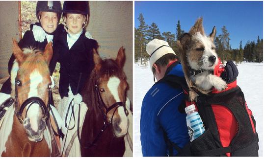 Hai chị em nhà Andresen từ nhỏ đã được dạy về tình yêu thương động vật