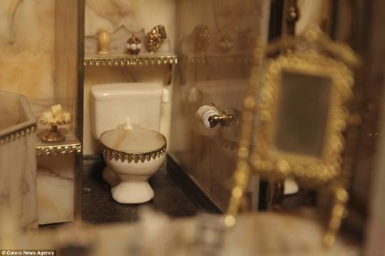 Nhà vệ sinh theo phong cách hoàng gia Ảnh: Caters New Agency