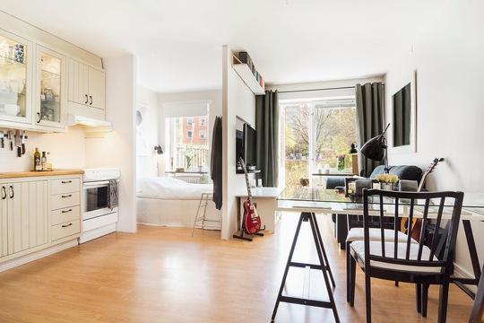 Có nhiều dự án căn hộ nhỏ từ 30 đến 45 m2 dành cho người độc thân