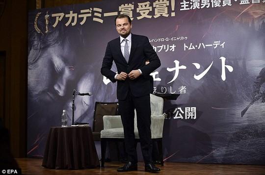 Leonardo DiCaprio được chào đón nồng nhiệt tại Nhật