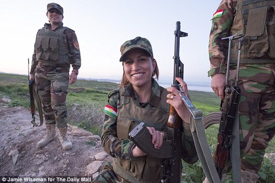 Nữ chiến binh Berevan (21 tuổi)