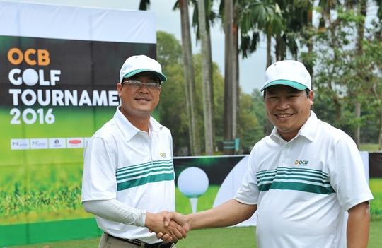 Các Golfer thi đấu Giải OCB Golf Tournament