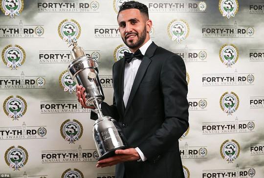 Mahrez xứng đáng nhận giải thưởng này với những gì đã thể hiện