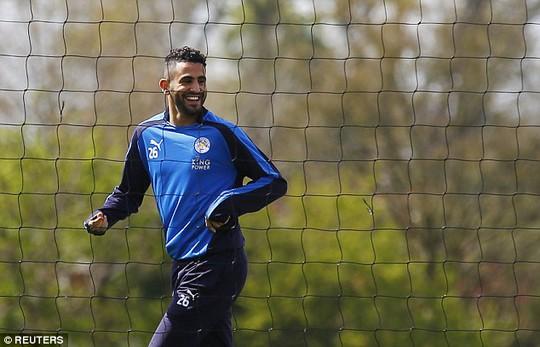 Riyad Mahrez, cầu thủ xuất sắc nhất Anh mùa giải 2015-2016, người có ảnh hưởng lớn thành tích của Leicester