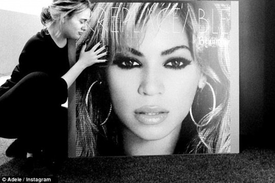 Adele ngưỡng mộ Beyonce