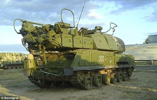 Hệ thống tên lửa Buk. Ảnh: Bellingcat