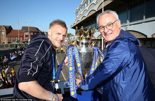 Hai nhân vật có đóng góp lớn trong chức vô địch của Leicester