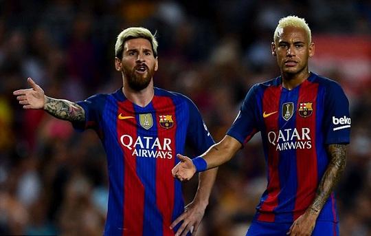 Messi và Neymar không hiểu chuyện gì đã xảy ra