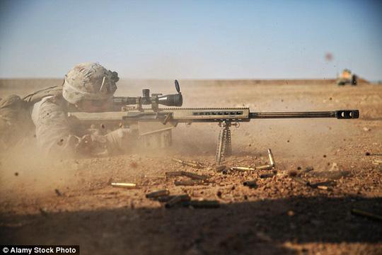 Lính bắn tỉa thuộc đội đặc nhiệm SAS của Anh. Ảnh: Alamy
