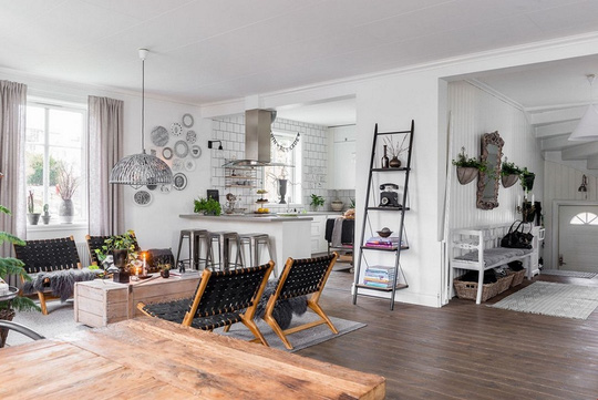Ngôi nhà hiện đại với phong cách đồng quê tuyệt đẹp