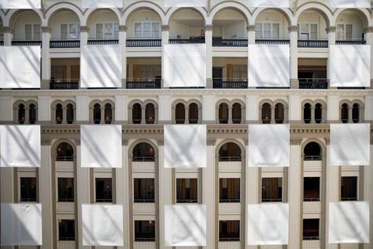 """Reuters cho biết khách sạn có tên là """"Khách sạn Quốc tế Trump"""", gồm 263 phòng. Ảnh: REUTERS"""