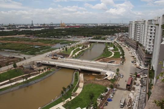 Những con kênh cũng được giữ gìn xanh, sạch để đáp ứng môi trường sống hiện tại