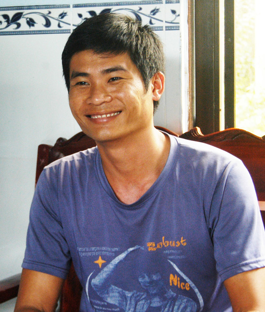 Nụ cười hiền lành của tài xế Phan Văn Bắc