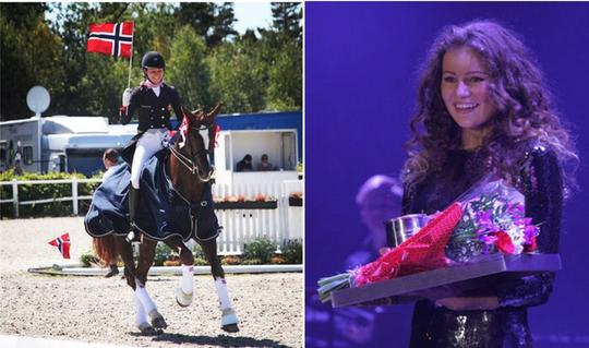 Alexandra Andresen khẳng định thành công trong các cuộc thi đua ngựa. Cô khẳng định, gia đình giàu có cũng mang lại cho cô nhiều cơ hội bởi đua ngựa vốn là môn thể thao tốn tiền. Tuy nhiên, chỉ tiền thôi là chưa đủ