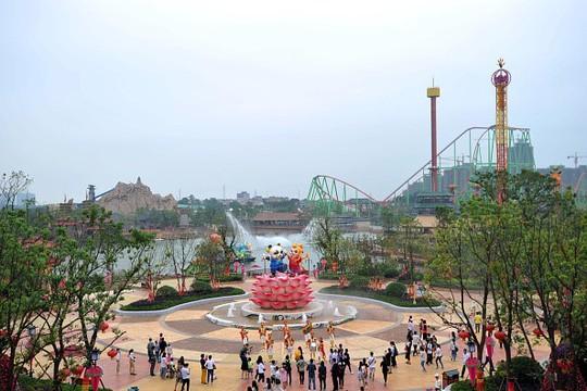 Công viên ở Thượng Hải sẽ là công trình đầu tiên của Disney ở Trung Quốc đại lục.