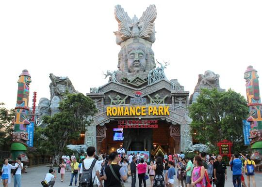 Romance Park - Công viên chủ đề tại Tam Á