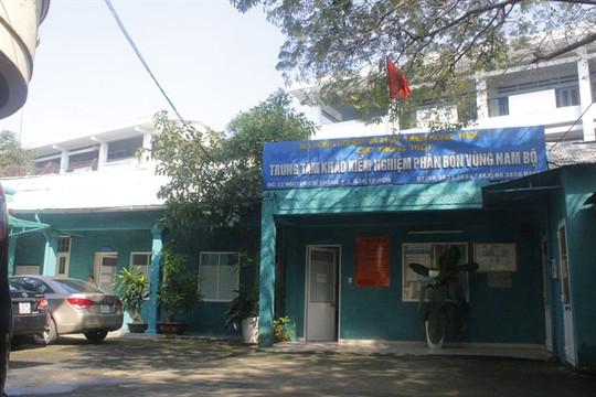 Thanh tra Bộ Nông nghiệp và Phát triển nông thôn kiến nghị xử lý nghiêm người đứng đầu Trung tâm Khảo kiểm nghiệm phân bón vùng Nam Bộ