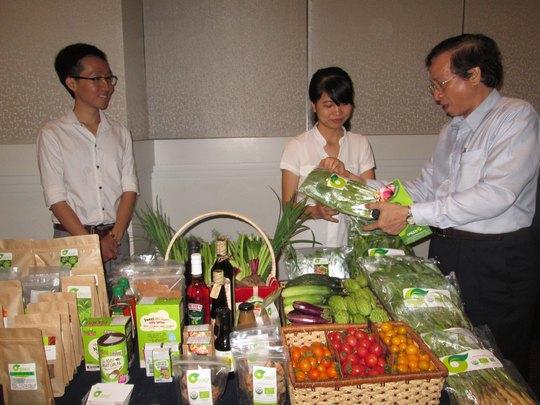 Các loại nông sản sạch ngày càng được người tiêu dùng lựa chọn