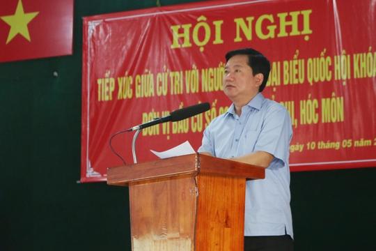 Bí thư Thành ủy TPHCM Đinh La Thăng: Dự án nào làm được thì phải làm ngay