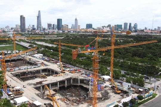 Công trình nối tiếp công trình, dự án nối tiếp dự án đang được đẩy nhanh tiến độ thi công