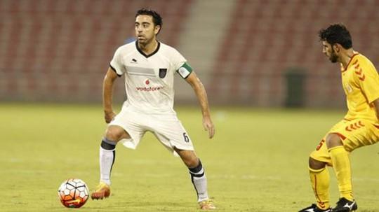 Xavi trong màu áo CLB Al-Sadd, Qatar