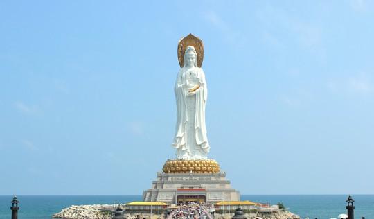 Tượng Nam Sơn Hải Thượng Quán Âm tại Khu du lịch văn hóa Nam Sơn
