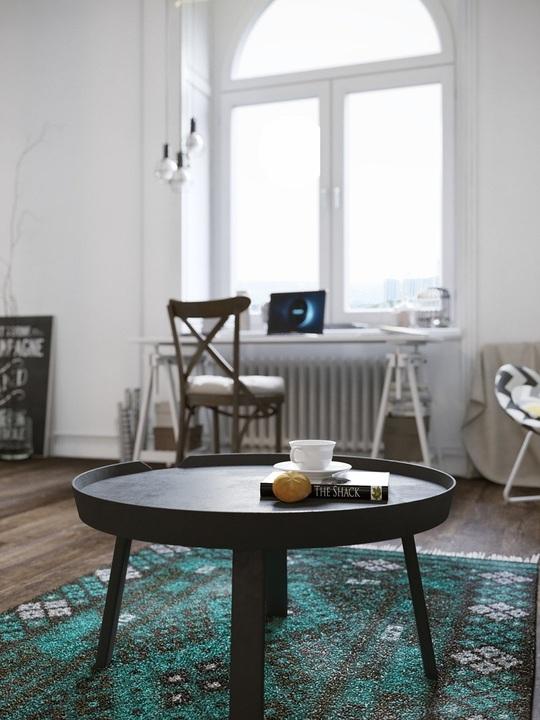 Những món đồ nội thất được lựa chọn với tiêu chí nhỏ gọn nhưng có tính ứng dụng cao.