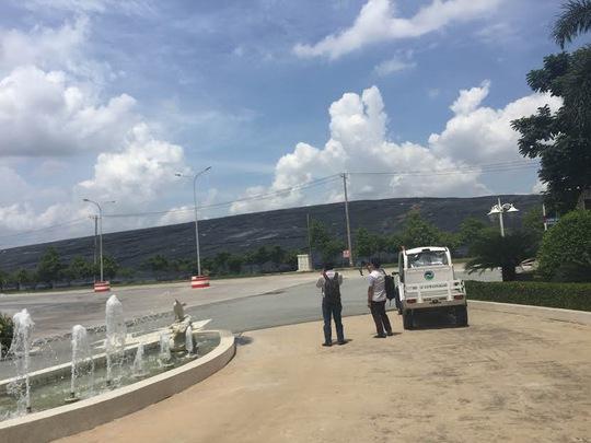 Bên trong Công ty TNHH Xử lý chất thải Việt Nam (xã Đa Phước, huyện Bình Chánh, TP HCM) Ảnh: Lê Phong