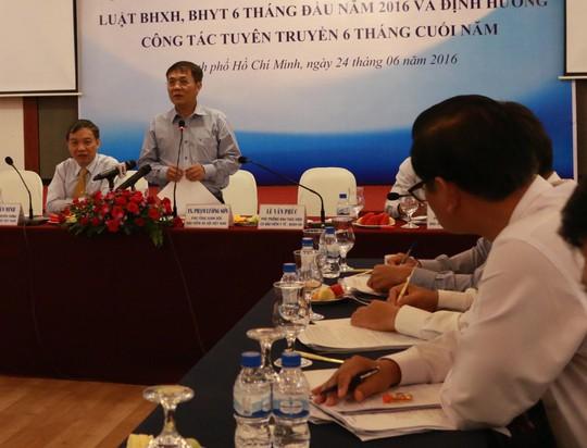 Lãnh đạo BHXH Việt Nam thông tin về việc thực hiện chính sách BHXH, BHYT 6 tháng đầu năm 2016