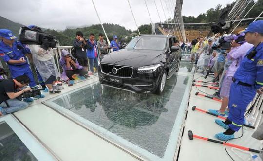 Công viên kiểm tra độ bền của cầu để trấn an du khách. Ảnh: AP