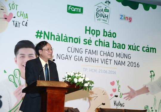 Ông Ngô Văn Tụ – Giám đốc công ty Vinasoy
