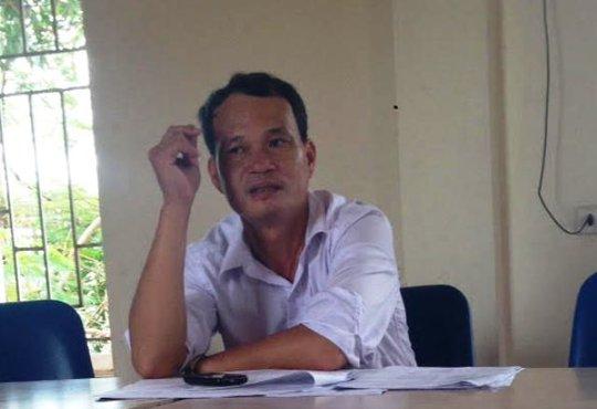 Ông Lê Văn Hà, Chủ tịch UBND xã Xuân Thọ, rất lo lắng khi sự việc xảy ra