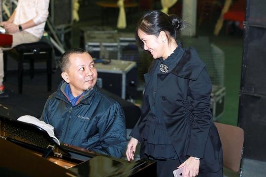 Hồng Nhung và nhạc sĩ Lưu Hà An