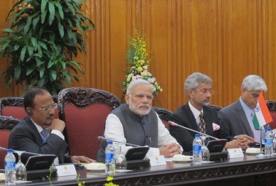 Đây là chuyến thăm đầu tiên của ông Narendra Modi trên cương vị Thủ tướng đến Việt Nam, cũng là chuyến thăm chính thức song phương đầu tiên của một Thủ tướng Ấn Độ đến Việt Nam trong 15 năm qua