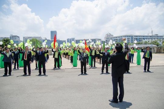 Ông Nguyễn Đức Thọ phát động phong trào An Tín - Đồng hành vì môi trường xanh của Thành phố thân yêu