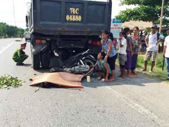 Vụ tai nạn ở huyện Đakrông