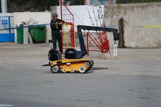 Robot dò mìn