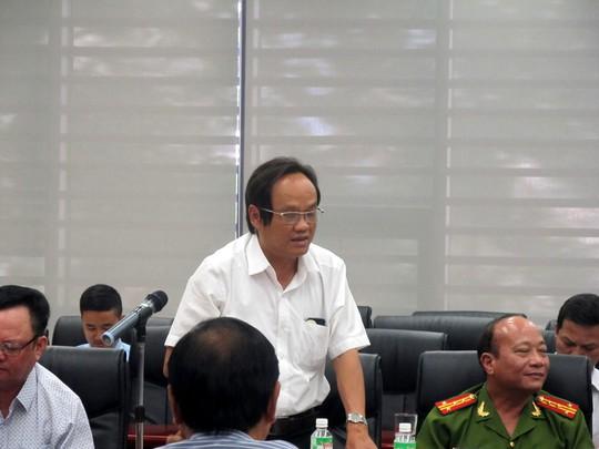 Ông Nguyễn Phú Ban, giám đốc Sở NN và PTNT TP Đà Nẵng, phát biểu cho rằng khó kiểm tra giết mổ thịt chó