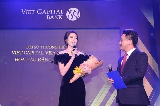 Hoa hậu Đặng Thu Thảo là Đại sứ thương hiệu của dòng thẻ Viet Capital Visa Platinum