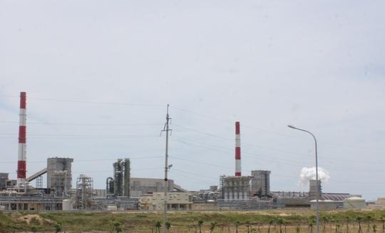 Nhà máy Formosa tại Hà Tĩnh.